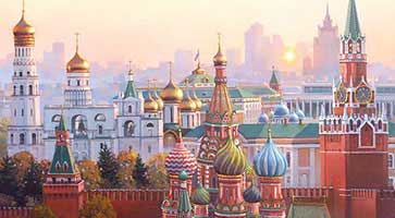 Moscow: One day tour with Kremlin